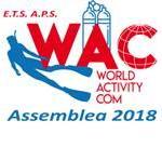 Info WAC 16-2019: Assemblea Soci e Proiezione filmato Sharm; Corso BLS; Articolo sul relitto Roma; Aggiornamento Viaggi.
